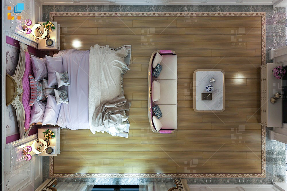 Bộ sưu tập phòng ngủ mẫu gạch Viglacera 3