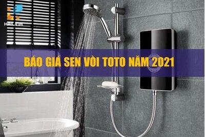 Xem ngay bảng báo giá sen vòi Toto cập nhật mới nhất 2021