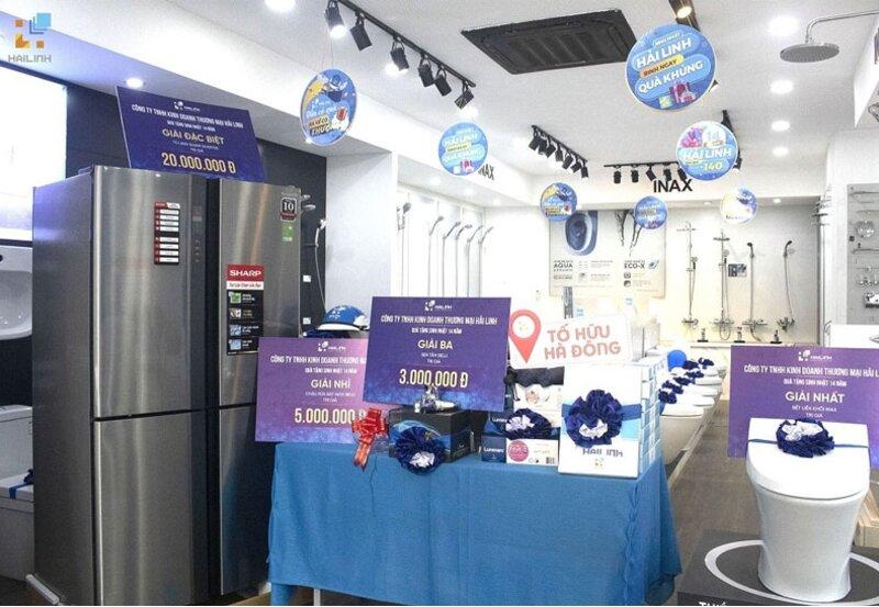 [Xây Dựng] Mừng sinh nhật 14 năm, Công ty Hải Linh tặng quà lên tới 140 triệu đồng