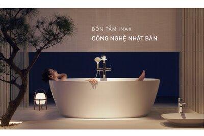 Vì sao nên sử dụng vòi sen bồn tắm Inax?