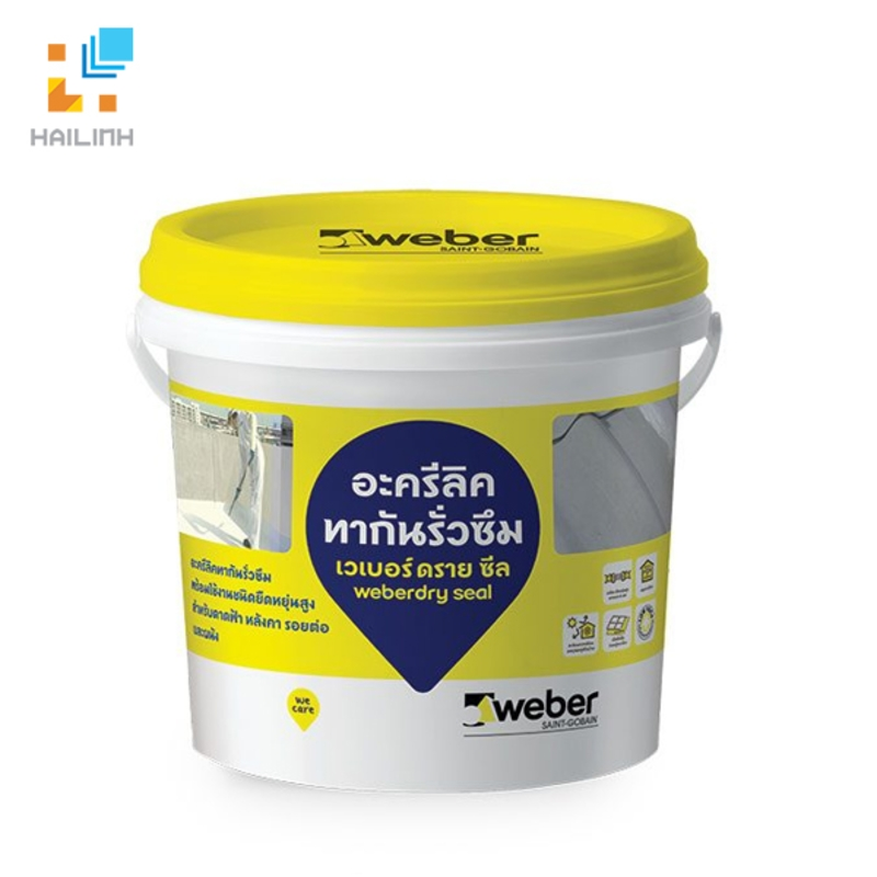 Keo chống thấm Weber.dry SEAL