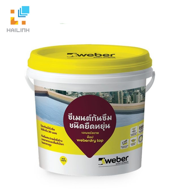 Keo chống thấm Weber.dry TOP