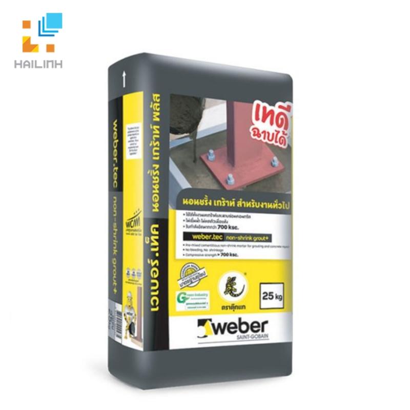Vữa Weber Tec non-shrink grout+