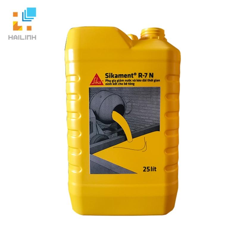 Phụ gia tăng cường độ bê tông Sikament R-7N