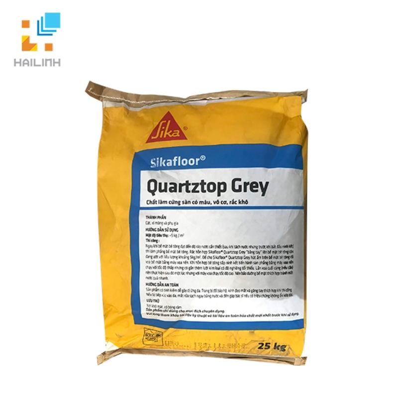 Bột xi măng đánh bóng Sikafloor Quartztop Grey