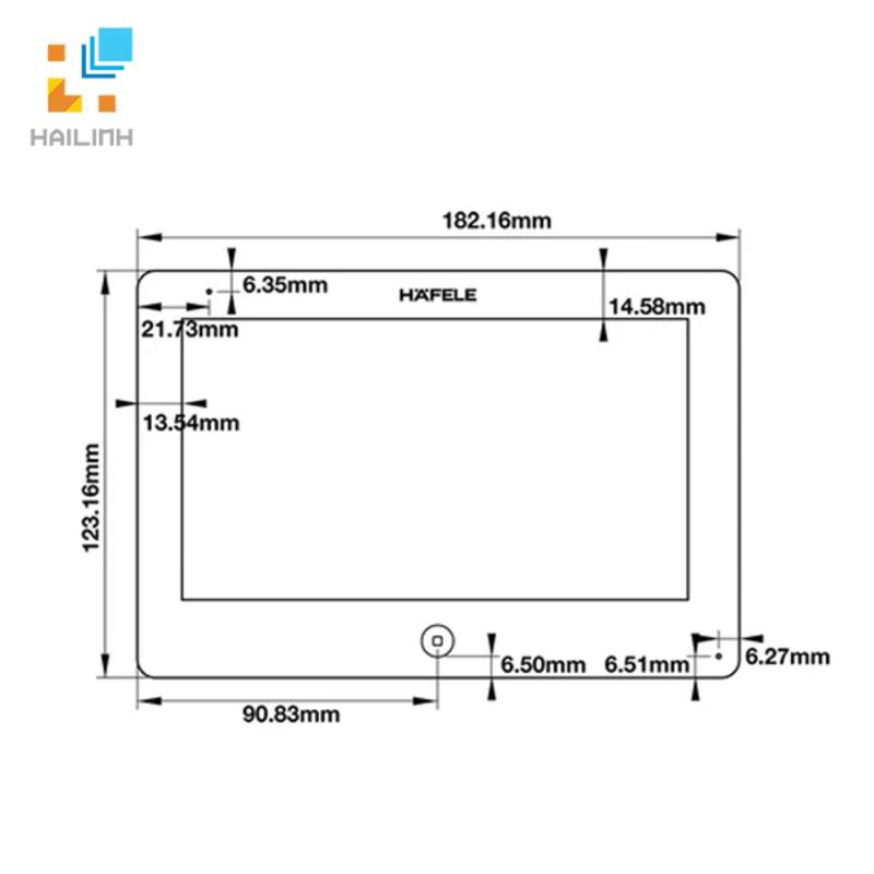 Màn hình cửa Hafele 959.23.082