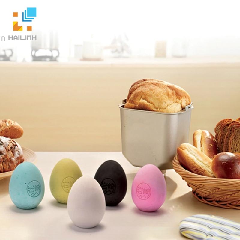 Combo 4 trứng hút ẩm khử mùi tủ lạnh Diatomite