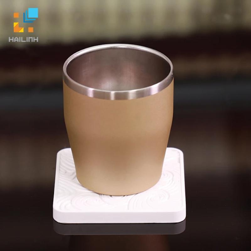 Bộ 6 Lót ly cốc Diatomite vuông