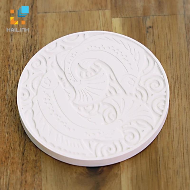 Lót ly cốc Diatomite tròn