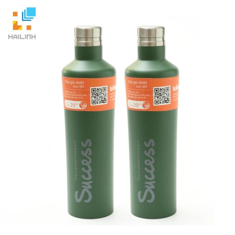 Cặp chai giữ nhiệt inox 500ml