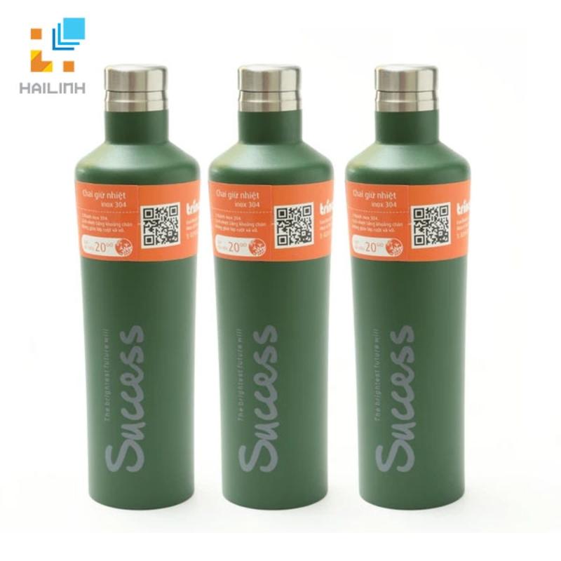 Bộ 3 chai giữ nhiệt inox 500ml