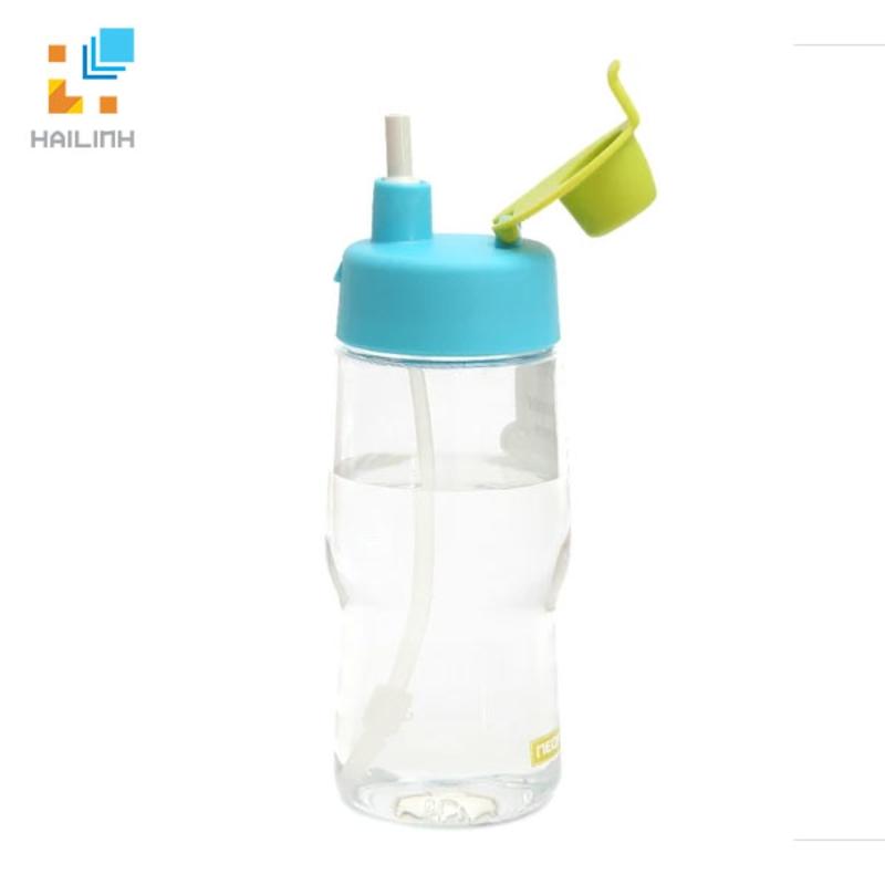Chai nước Iwater 380ml có ống hút