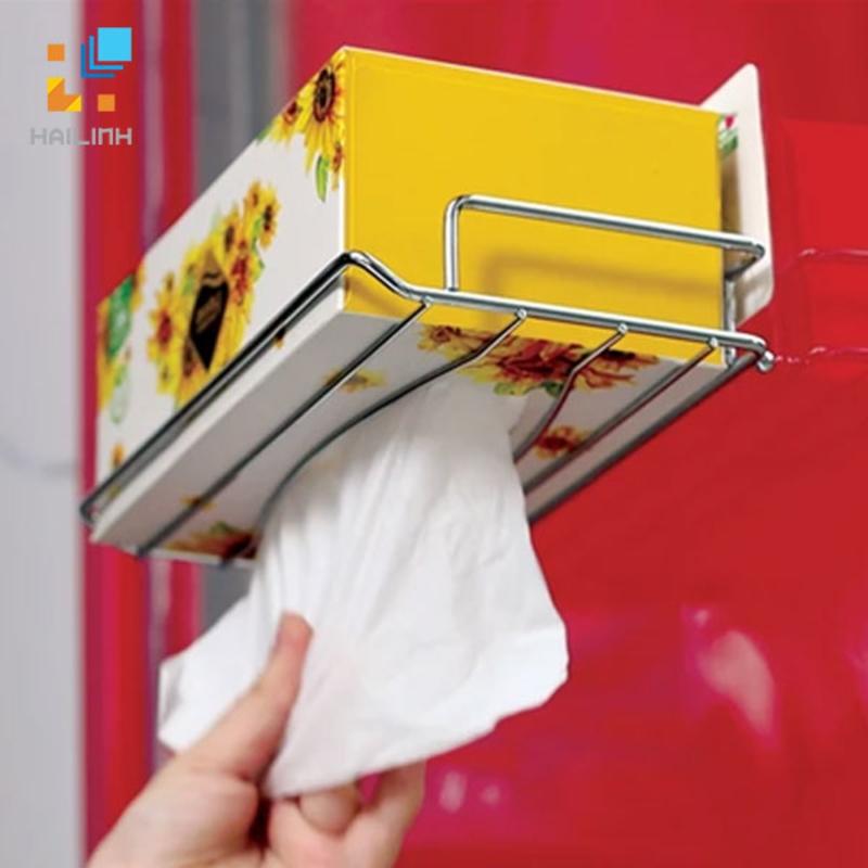 Giá để hộp giấy ăn happy Home