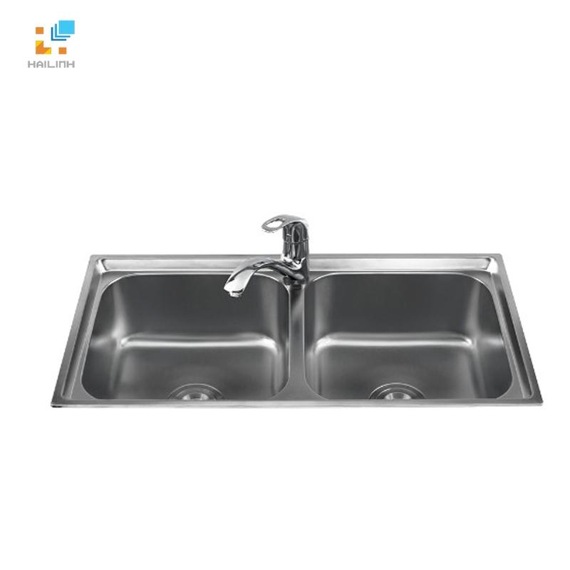Chậu rửa bát inox Sơn Hà S.82.X.1.3