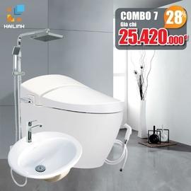 Combo thiết bị vệ sinh Cotto+Belli số 7