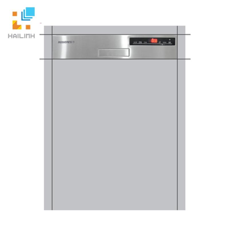 Máy rửa bát bán âm tủ Rosieres RDSN 1D530PX-47