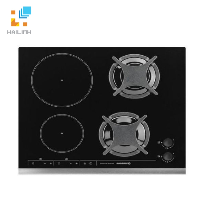 Bếp ga kết hợp bếp từ Rosieres RGI622IN
