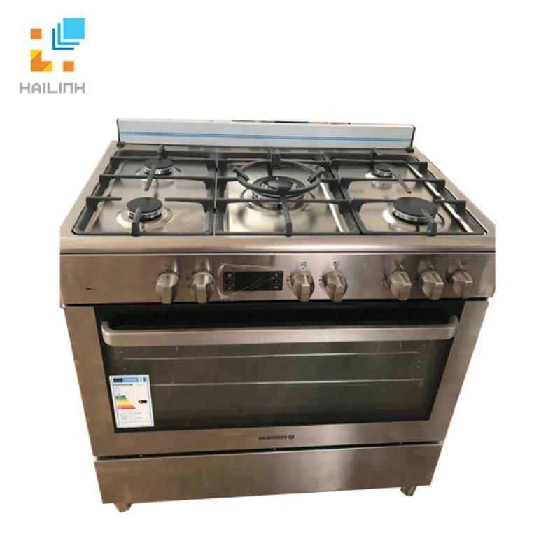 Bếp ga 5 vùng nấu kết hợp lò nướng điện 90CM Rosieres RGM9095IN