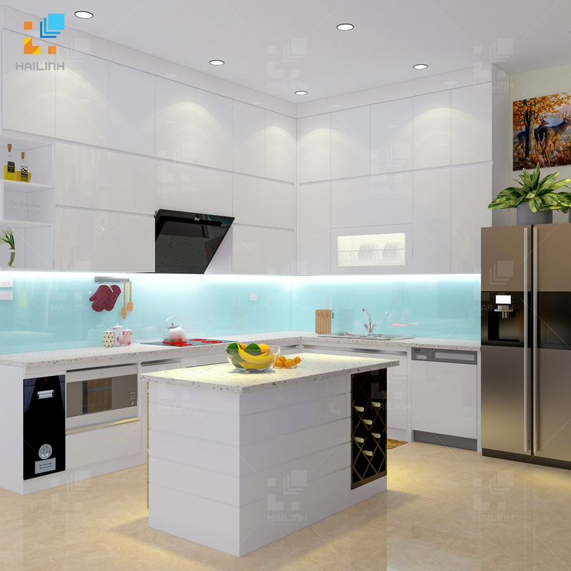 Tủ bếp Belli mẫu 01