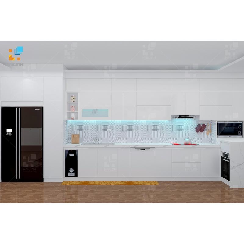 Tủ bếp Belli mẫu 03