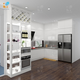 Tủ bếp Belli mẫu 04