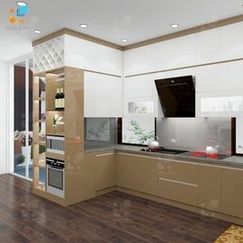 Tủ bếp Belli mẫu 05