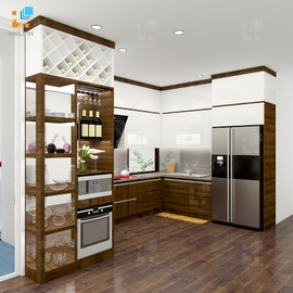 Tủ bếp Belli mẫu 06