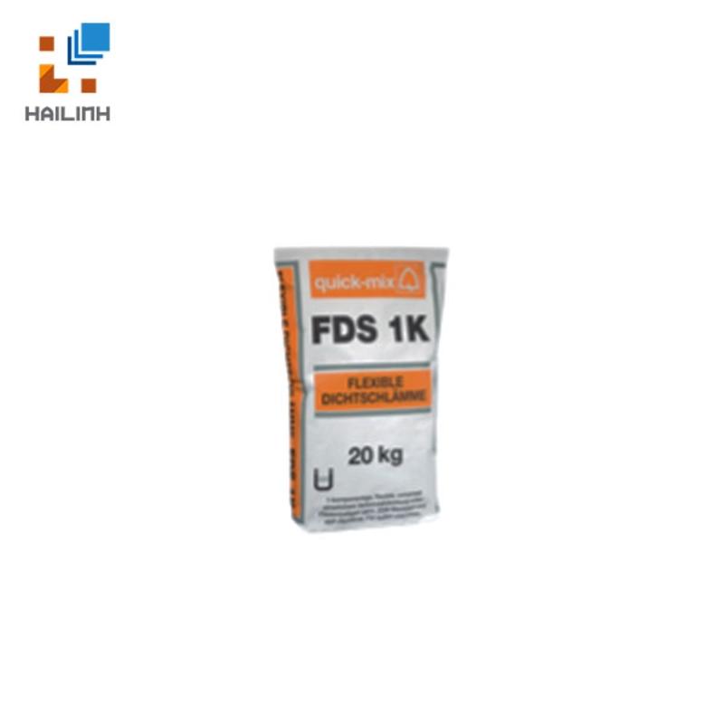 Vữa chống thấm 1 thành phần QUICK-MIX FDS 1k