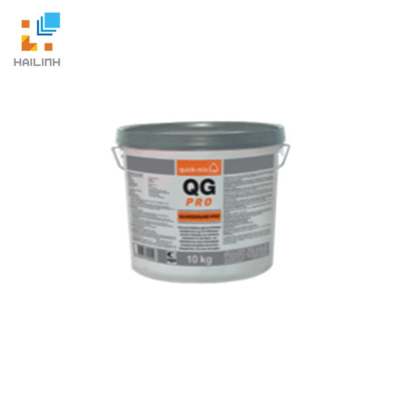 Dung môi cực thấp chứa thạch anh QUICK-MIX QG Pro