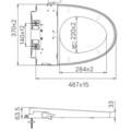Bồn cầu nắp rửa cơ Inax AC-832+CW-S32VN