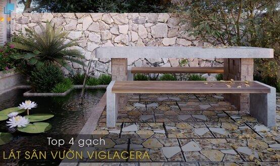 TOP 4 mẫu gạch lát sân vườn ĐẸP được yêu thích nhất hiện nay