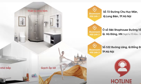 Khám phá không gian trưng bày thiết bị vệ sinh Inax tại showroom Hải Linh